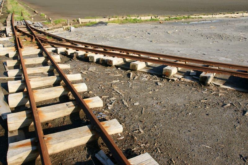 Vergeten spoorweg 24 royalty-vrije stock foto's