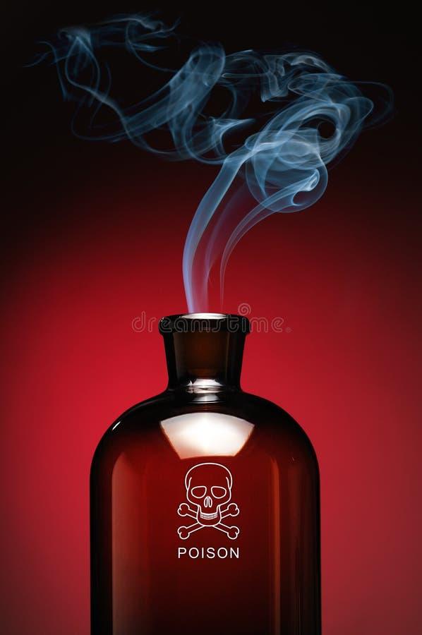 Vergift stock afbeelding
