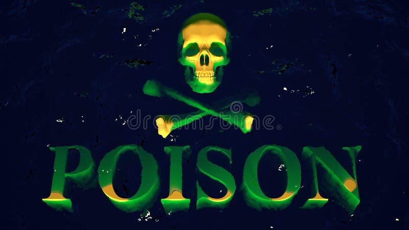 vergift vector illustratie