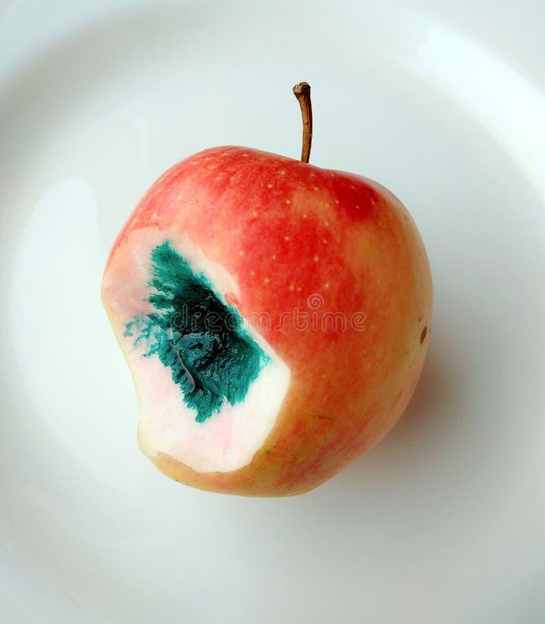 Vergiftigde slechte appel stock afbeeldingen