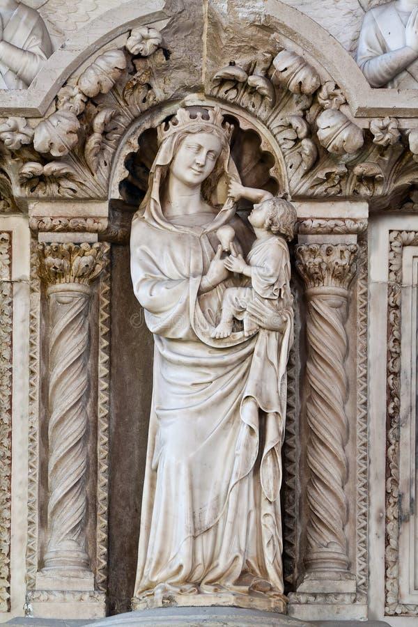 Vergin de Mary imagens de stock royalty free