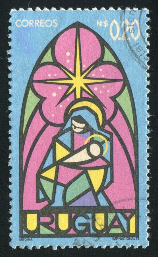 Vergine e bambino immagini stock libere da diritti