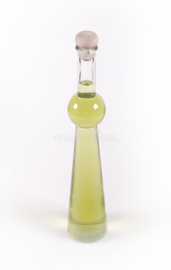 Vergine extra Olive Oil sopra bianco immagine stock