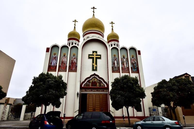 Vergine Santa-Kathedraal van de Russische Orthodoxe Kerk, 1 stock foto
