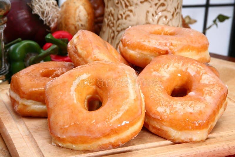 Verglaasde Donuts stock afbeelding