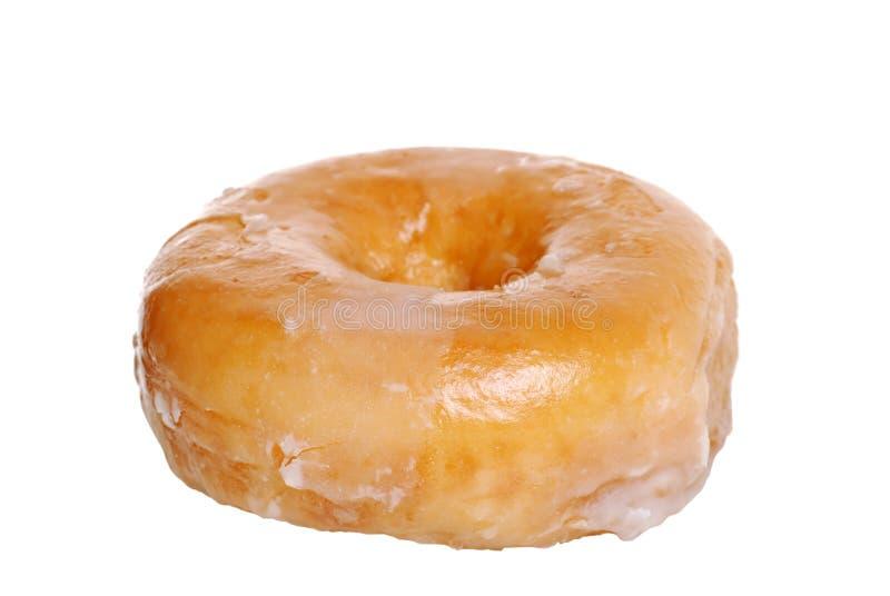 Verglaasde Doughnut royalty-vrije stock afbeelding