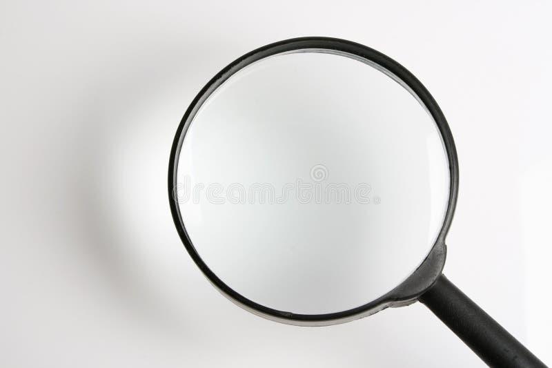 Vergrößerungsglas stockfoto