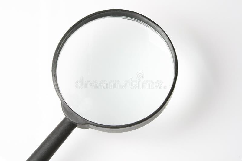 Vergrößerungsglas stockbild