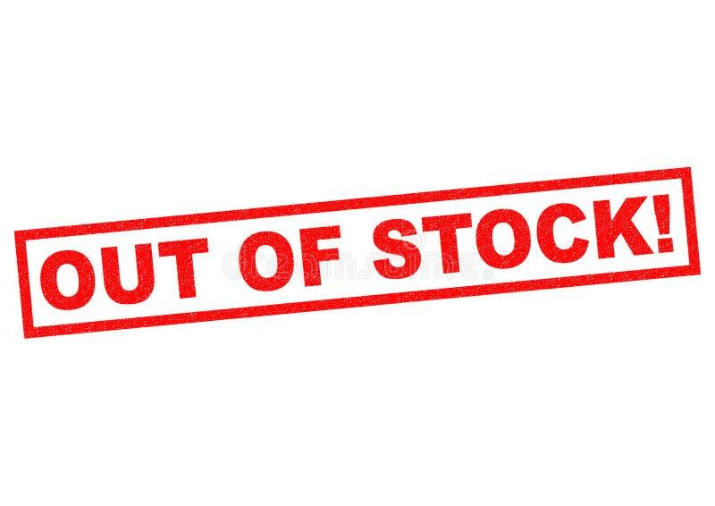 VERGRIFFEN! stock abbildung