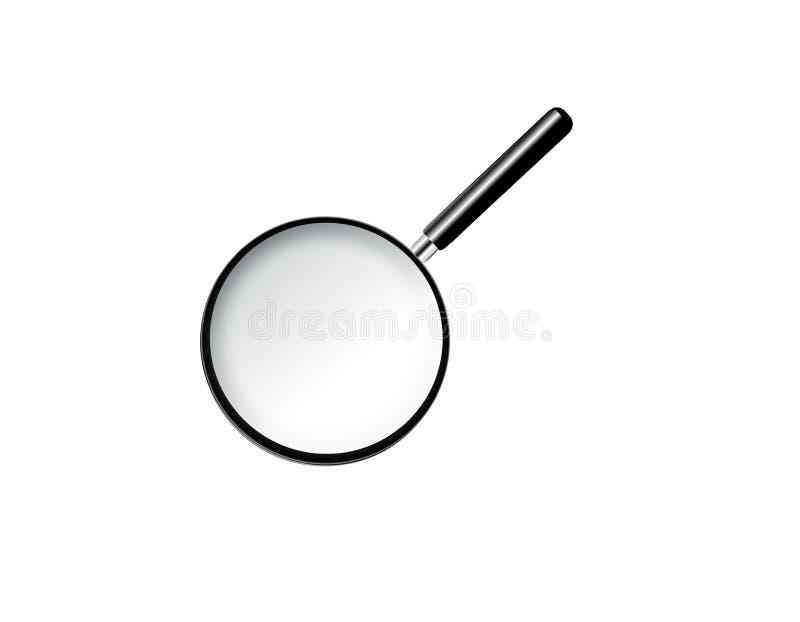 Vergrootglas stock illustratie