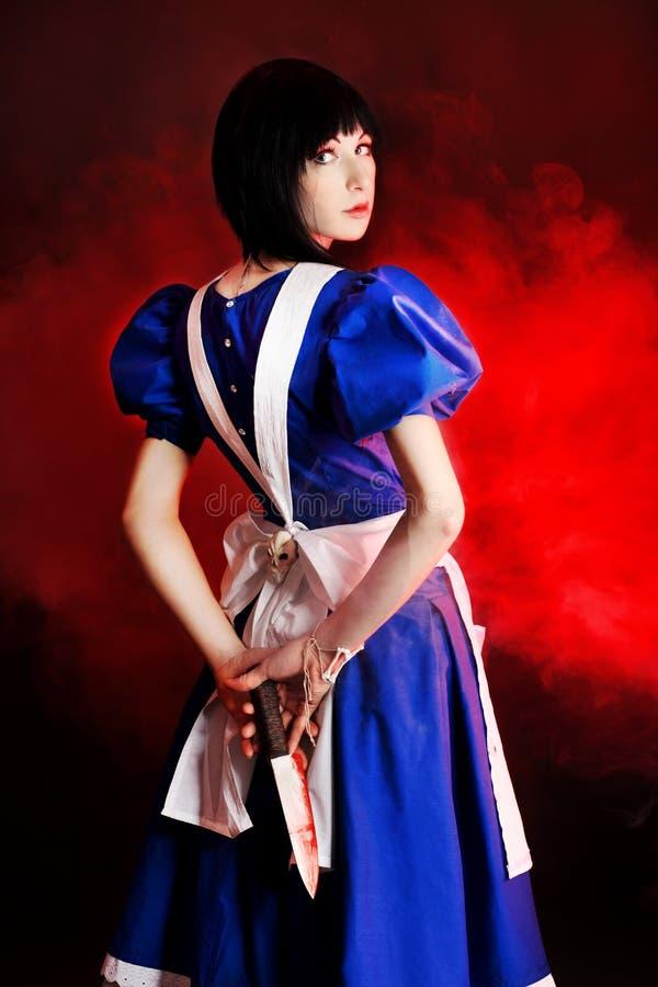 Verhaal over Alice royalty-vrije stock fotografie