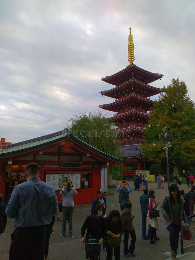 5-verhaal pagode royalty-vrije stock foto
