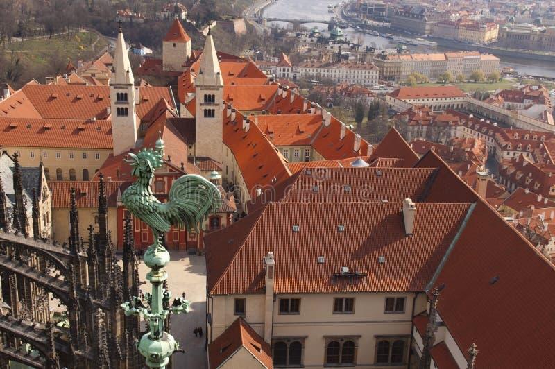 Verhaal van Oud Praag stock fotografie