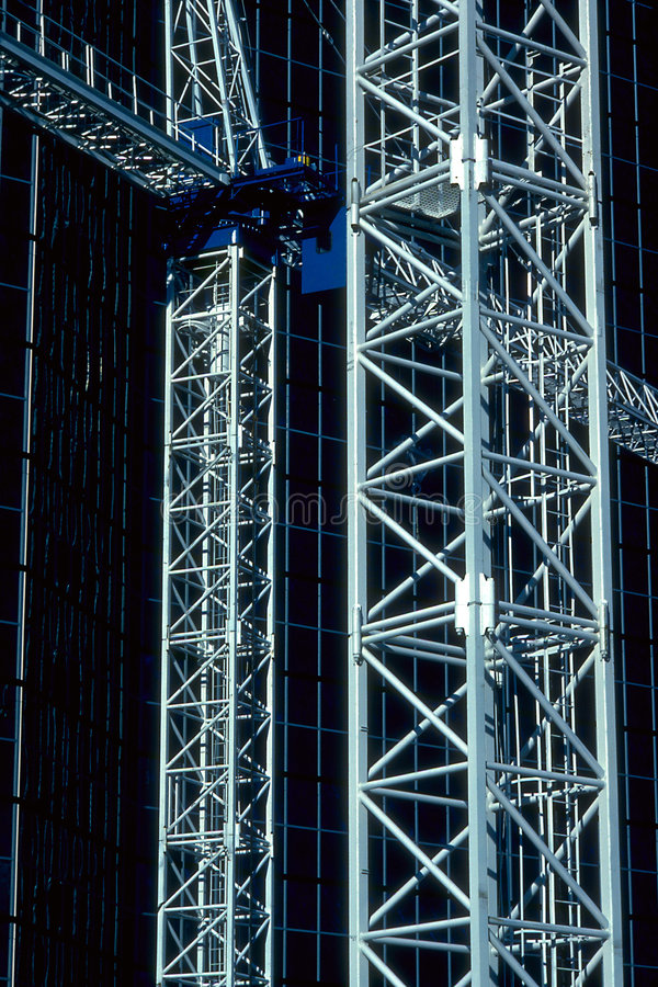Verhaal van twee torens royalty-vrije stock afbeelding
