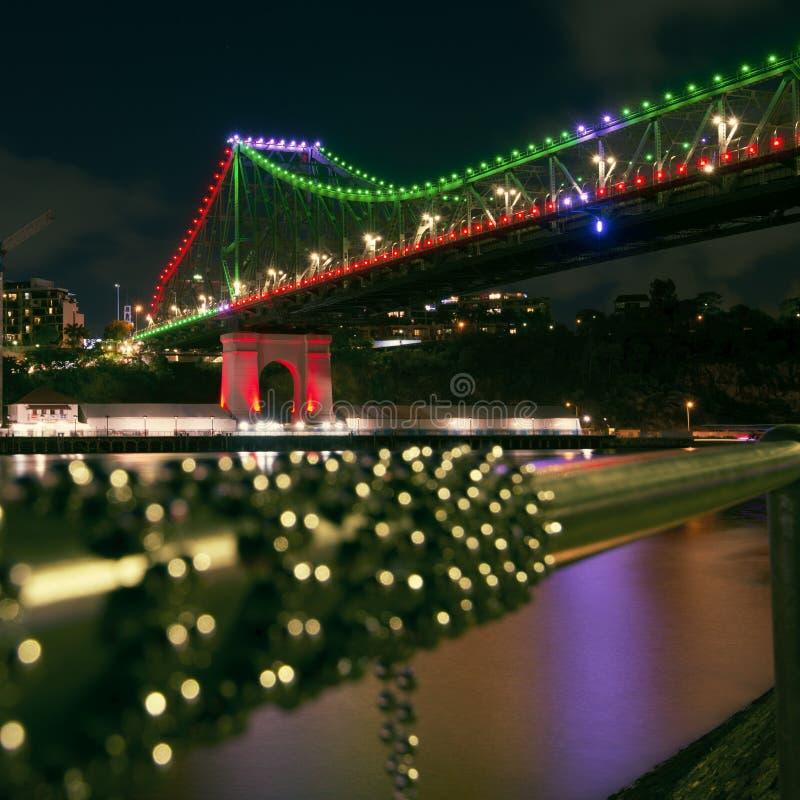 Verhaalbrug in Brisbane, Queensland royalty-vrije stock afbeelding