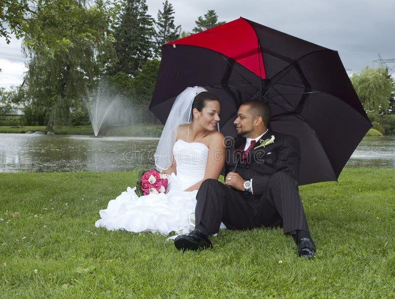 Verheiratetes Paar stockfoto