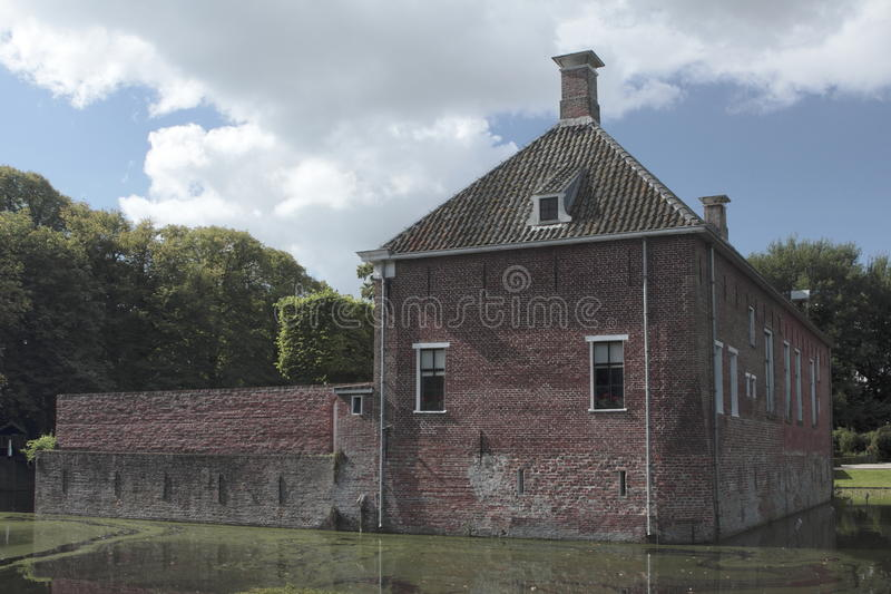 Download Verhildersum Castle With Moat Editorial Stock Photo - Image: 33672583