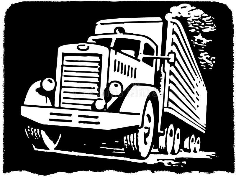 Verhuiswagen royalty-vrije illustratie