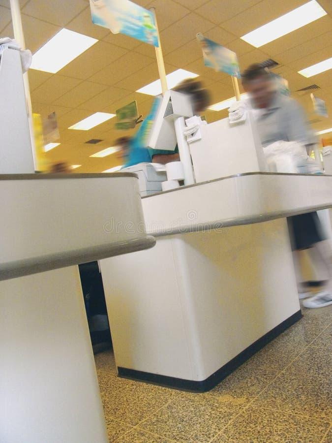 Verificação geral do supermercado foto de stock