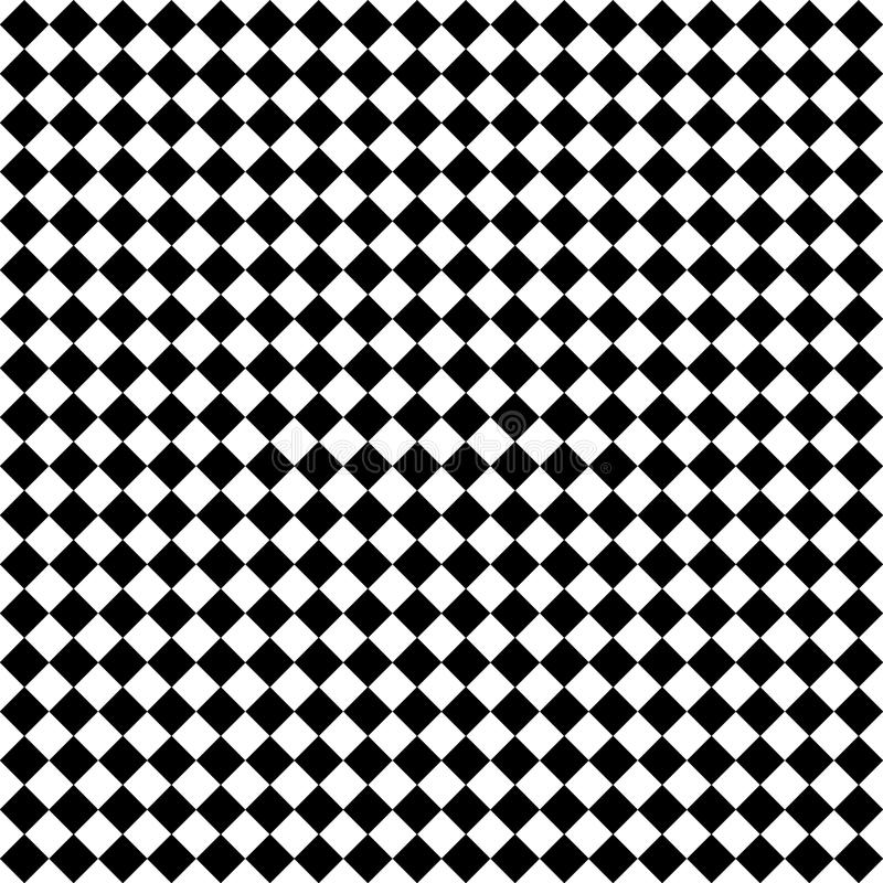 Verificaciones Negras Y Blancas Del Diamante Imagen de archivo libre de regalías
