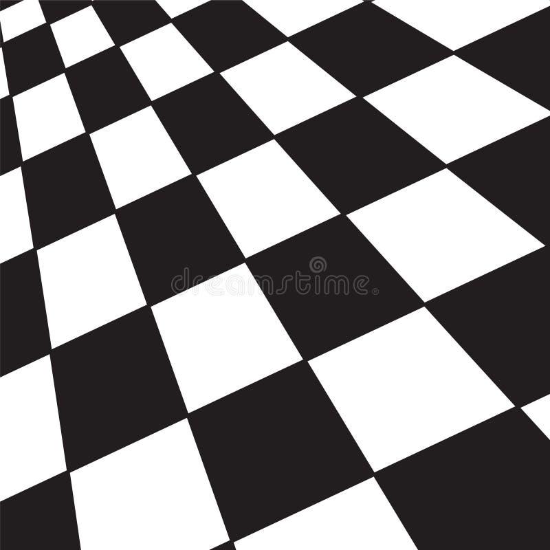 Verificador preto e branco ilustração royalty free