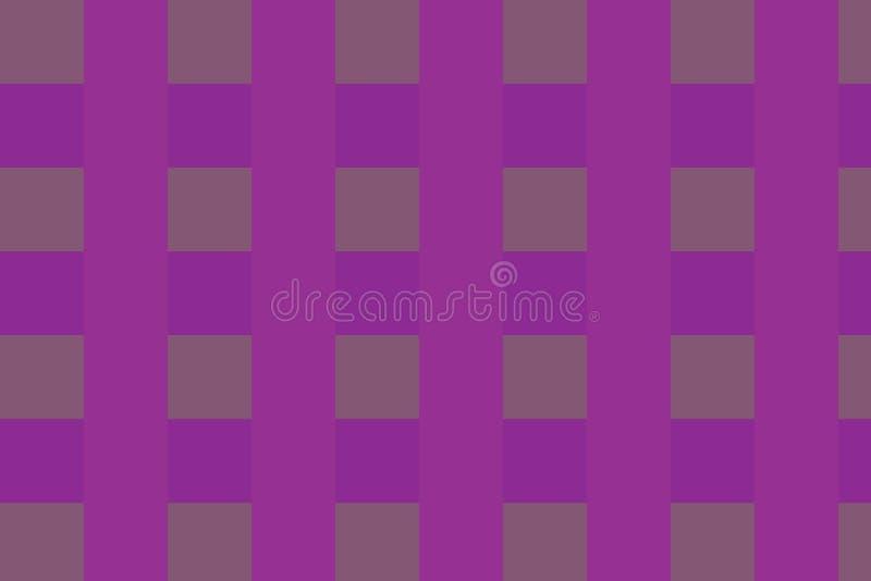 Verificadores do fundo da cor cor-de-rosa! ilustração royalty free