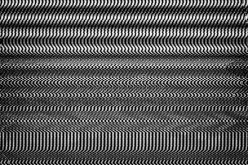 Verifichi la struttura di impulso errato dello schermo immagine stock