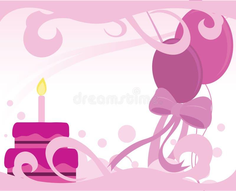 Verjaardag royalty-vrije illustratie