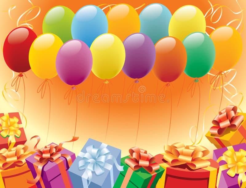 Verjaardag stock illustratie