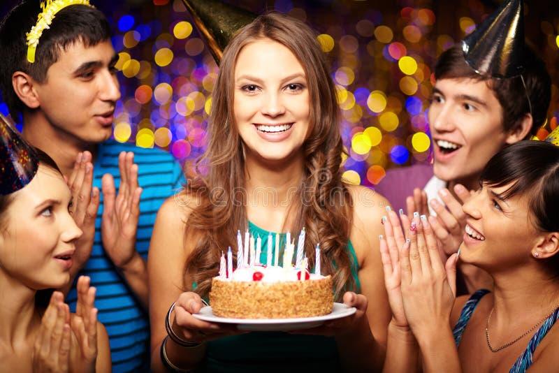 Verjaardagspartij royalty-vrije stock afbeelding
