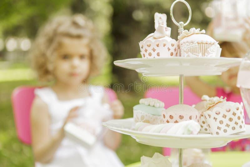 Verjaardagspartij stock afbeelding