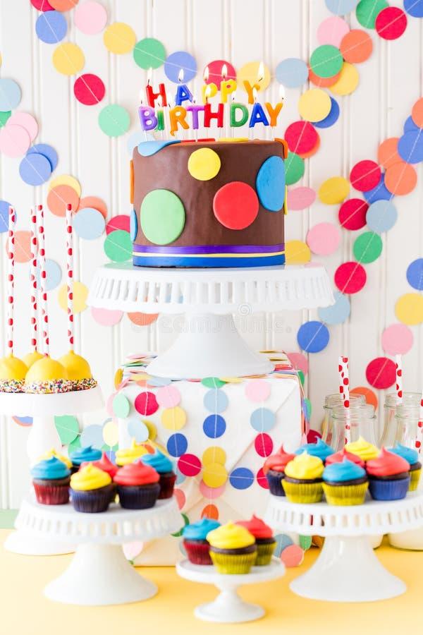 Verjaardagspartij royalty-vrije stock foto's