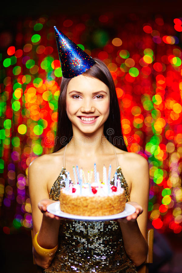 Verjaardagsviering royalty-vrije stock afbeelding