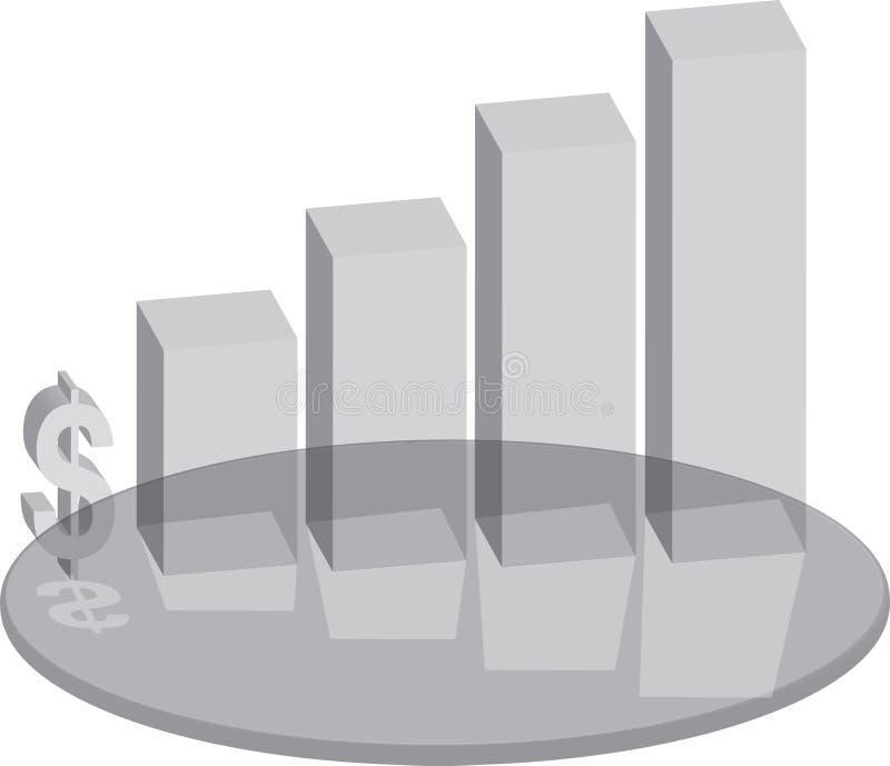 Verkäufe Plinthglas vektor abbildung