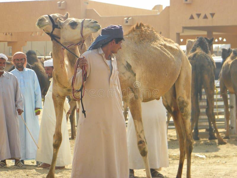 Verkäufer und Waren, UAE stockfotografie