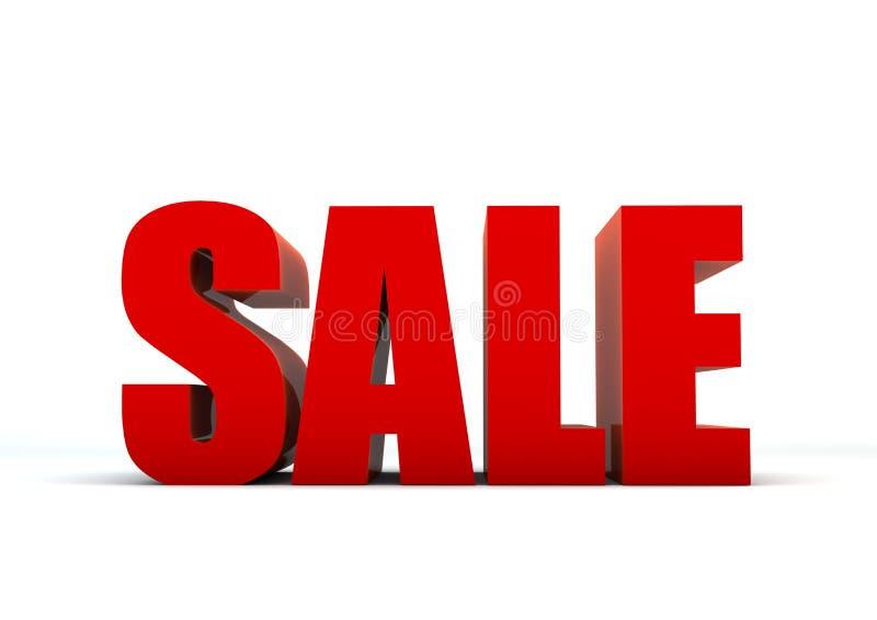 Verkauf 3d lizenzfreie abbildung