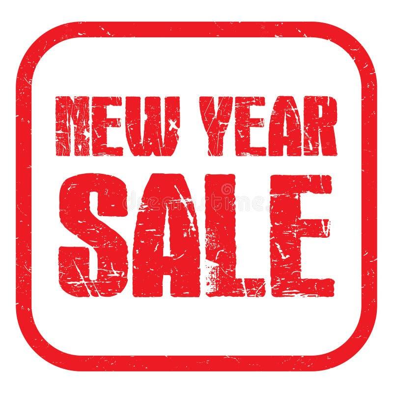 Verkauf des neuen Jahres vektor abbildung