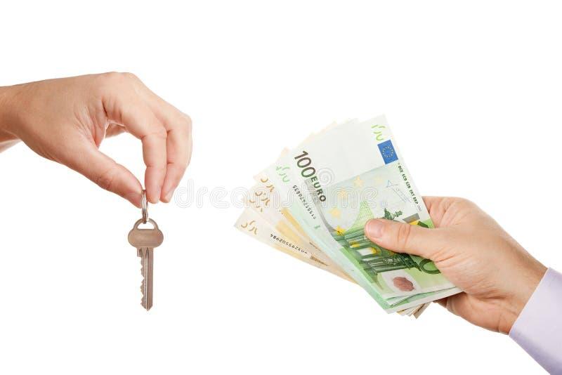 Verkauf/Lassen des Grundbesitzes lizenzfreies stockbild