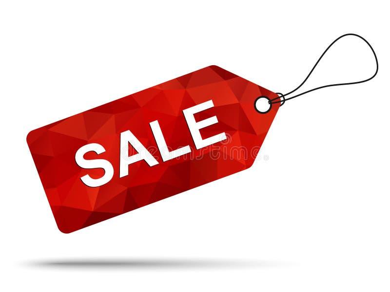 Verkaufs-Tag-Design lizenzfreie abbildung