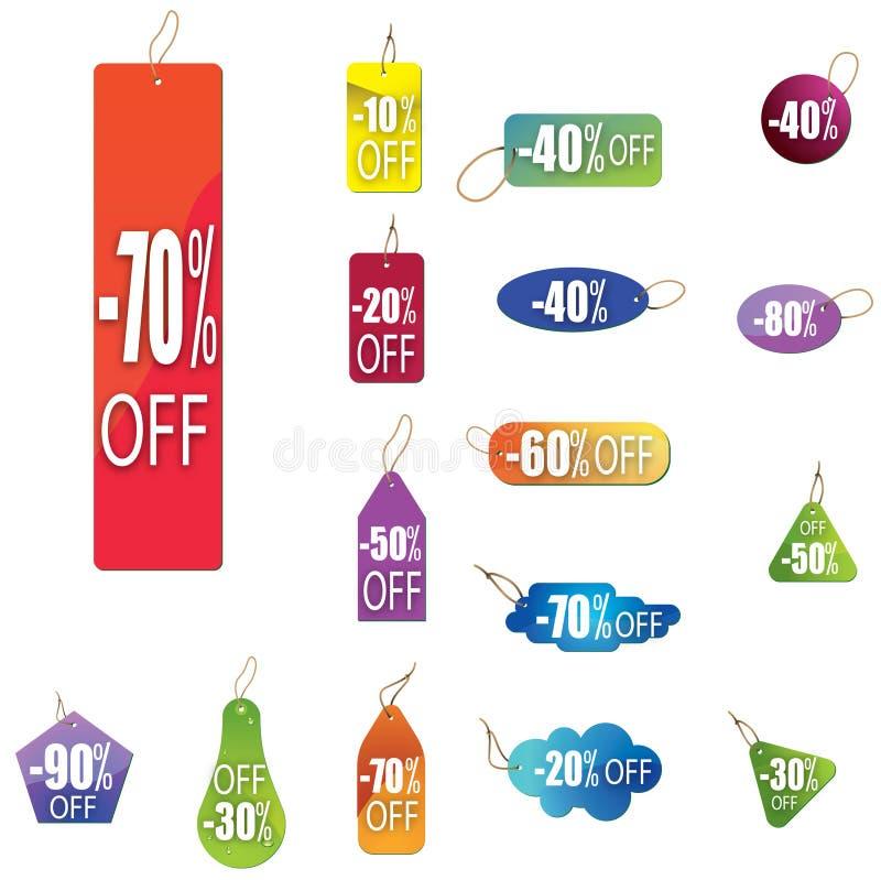 Verkauf 6 vektor abbildung