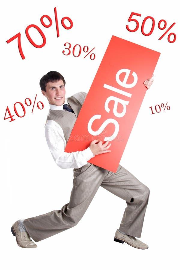 Verkaufsangebot lizenzfreie stockfotografie