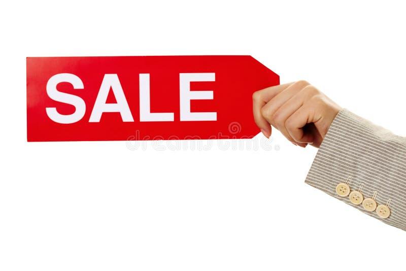 Verkaufsansage lizenzfreies stockbild