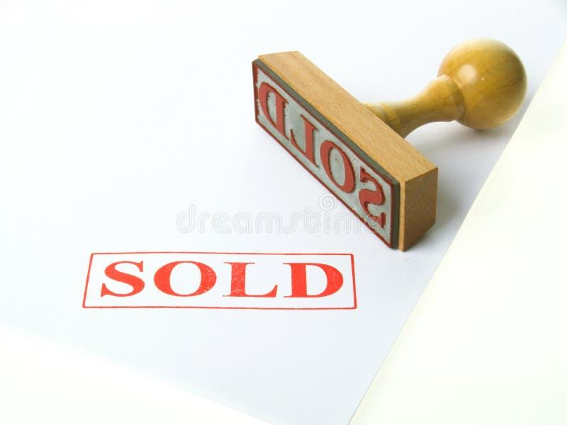 VerkaufsStempel lizenzfreies stockbild