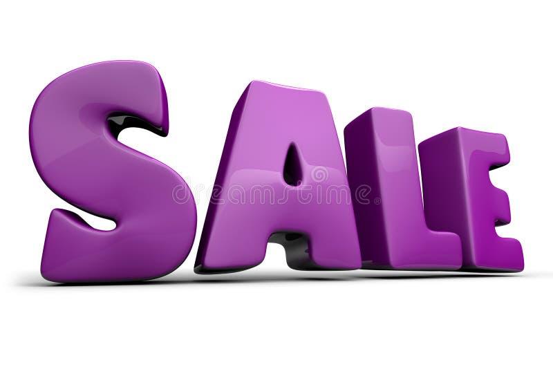 Verkaufszeichen stockfotografie