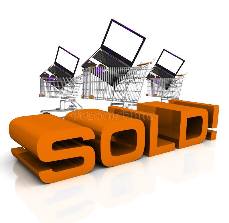 Verkauft! lizenzfreie abbildung