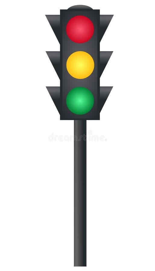 Verkeerslichten vector illustratie