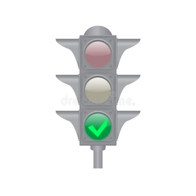 Download Verkeerslichten vector illustratie. Illustratie bestaande uit pictogram - 39111667
