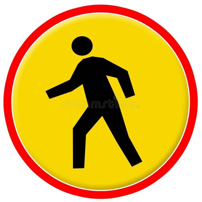 Verkeersteken 10 stock illustratie