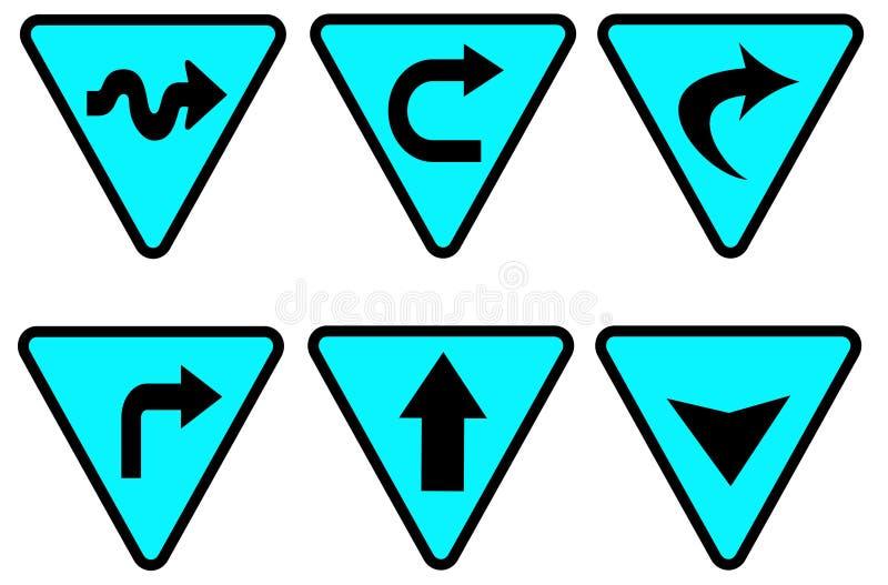Verkeersteken 2 vector illustratie