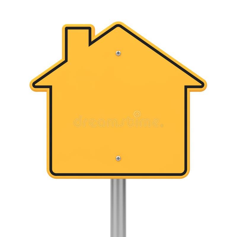 Verkeersteken op de Algemene Vergadering van de Vorm. royalty-vrije illustratie